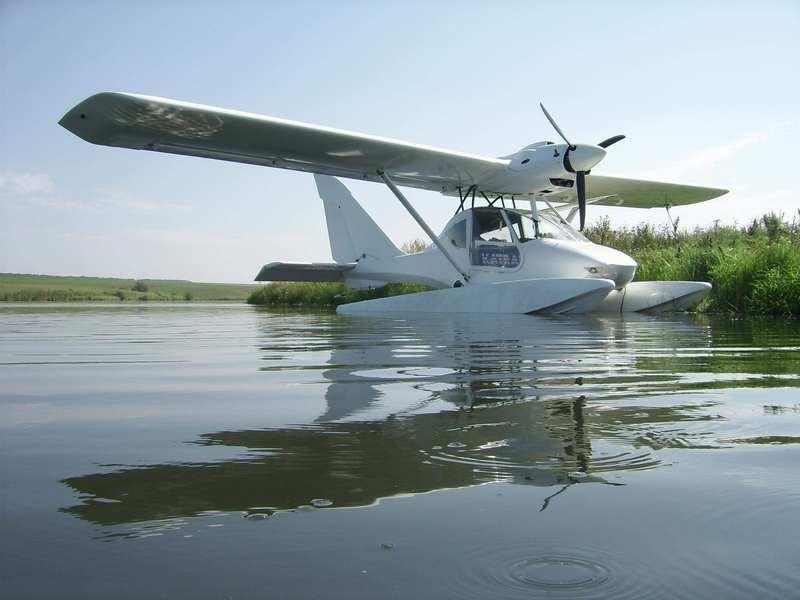самолеты с поплавками