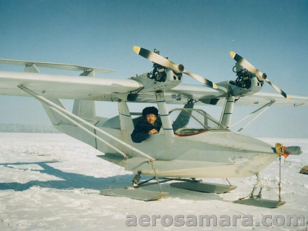 Новый летний сезон, новые гидросамолеты. .  Гидросамолёт-амфибия Л-42М.